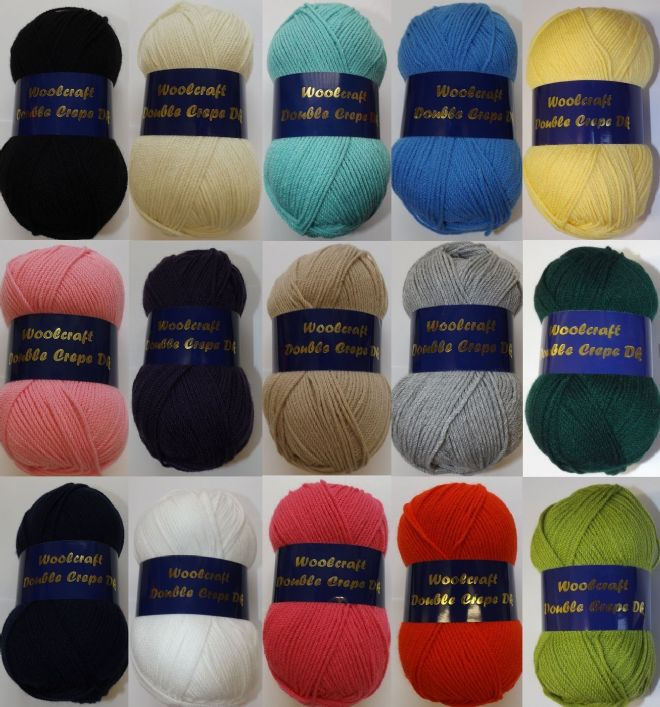Woolcraft Double Crepe DK 100g